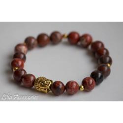 Náramek z jaspisu/Buddha
