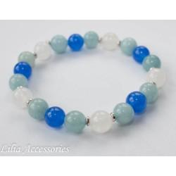 Náramek modro-bílý 2