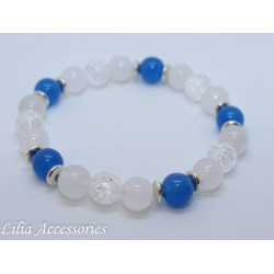 Náramek modro-bílý 1