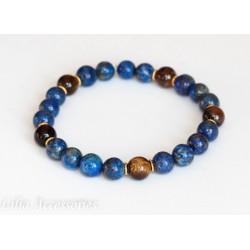 Náramek pánský lapis lazuli